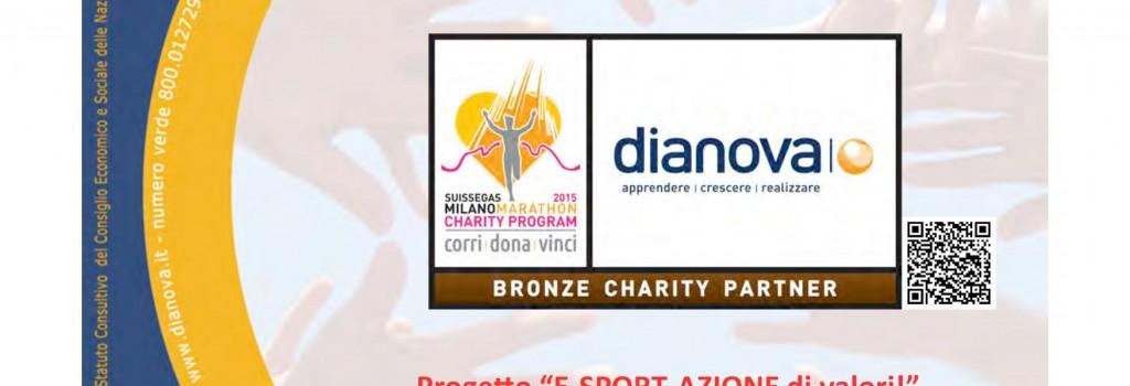"""Dianova - Progetto """"E-Sport-Azione di valori!"""" - 12 aprile 2015"""